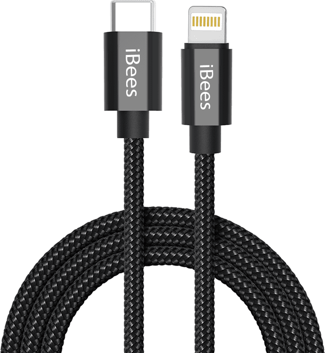 Type-C and lightning USB Cable